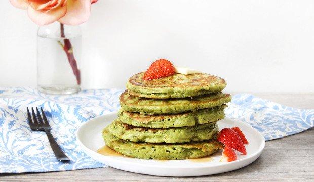 matcha pancake