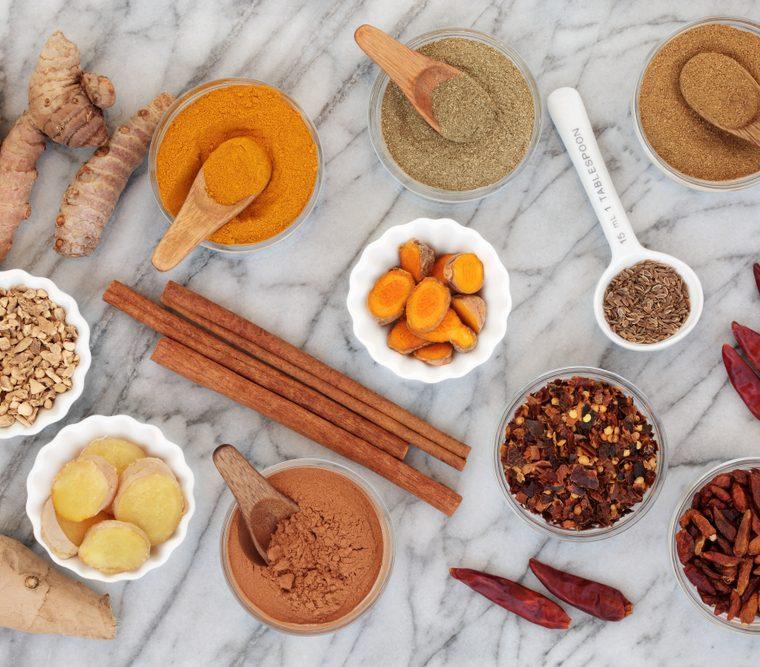 La cucina ayurvedica: erbe e spezie che fanno bene